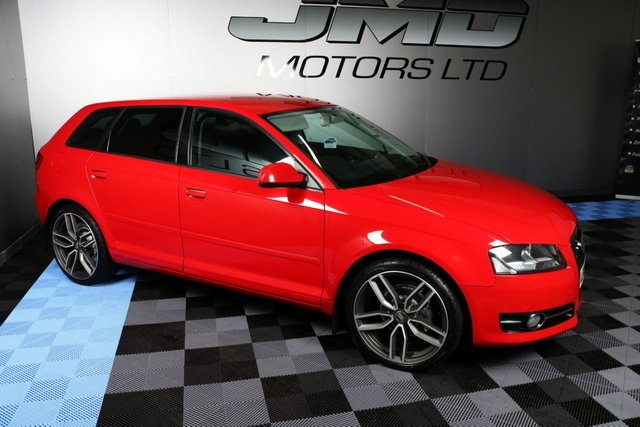 USED 2012 AUDI A3 LATE 2012 AUDI A3 1.6 TDI SE BLACK EDITION STYLE 5dr 103 BHP (FINANCE AND WARRANTY)