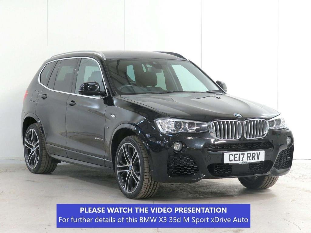 USED 2017 17 BMW X3 3.0 35d M Sport Sport Auto xDrive 5dr £7K XTRA*ACTIVCRUISE*HEADUP*20