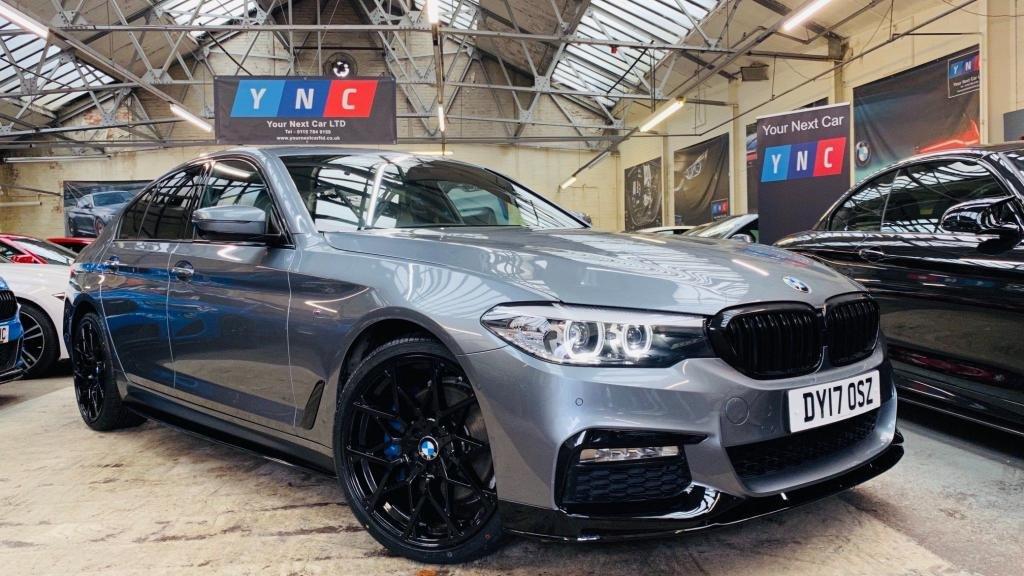 USED 2017 17 BMW 5 SERIES 2.0 530i M Sport Auto (s/s) 4dr PERFORMANCEKIT+20S+REVCAM
