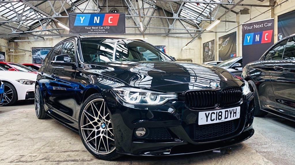 USED 2018 18 BMW 3 SERIES 2.0 320d M Sport Touring Auto (s/s) 5dr PERFORMANCEKIT+WIRELESSCHARG