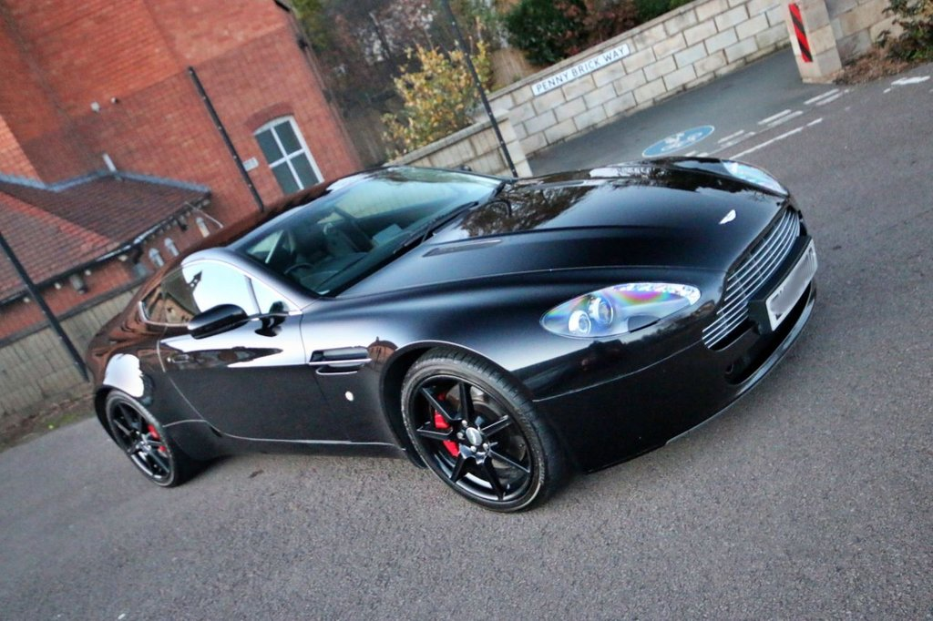 USED 2006 56 ASTON MARTIN VANTAGE 4.3 V8 3d 380 BHP LOW MILEAGE + GREAT HISTORY + GREAT CONDITION