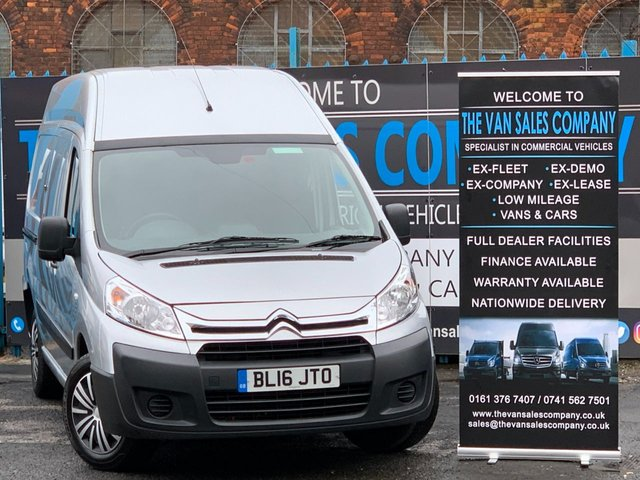 USED 2016 16 CITROEN DISPATCH 2.0 1200 L2H2 HDI 100 BHP LWB PANEL VAN