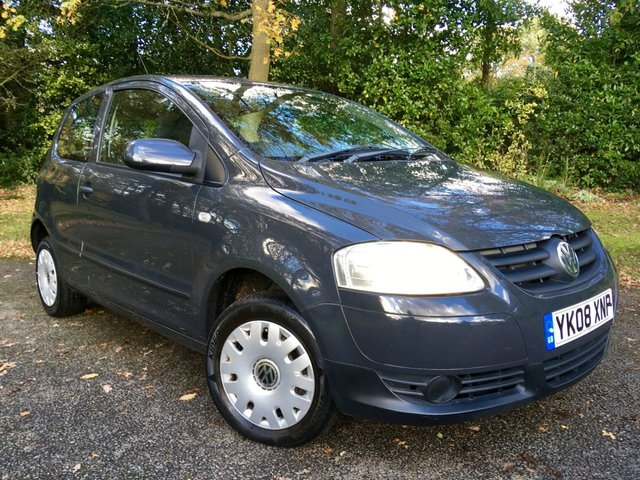 2008 08 VOLKSWAGEN FOX 1.2 URBAN 6V 3d 54 BHP 1 PRIVATE OWNER / ONLY 53,000 MILES