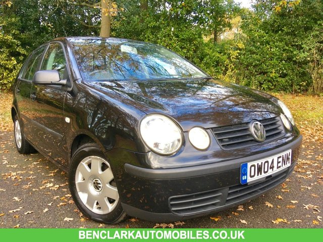 2004 04 VOLKSWAGEN POLO 1.4 TWIST 5d AUTO 74 BHP ONLY 2 OWNERS / ONLY 55,000 MILES/FULL SERVICE HISTORY X8 SERVICE STAMPS/NEW BRAKE PADS AND DISCS ALLROUND JUST RENEWED