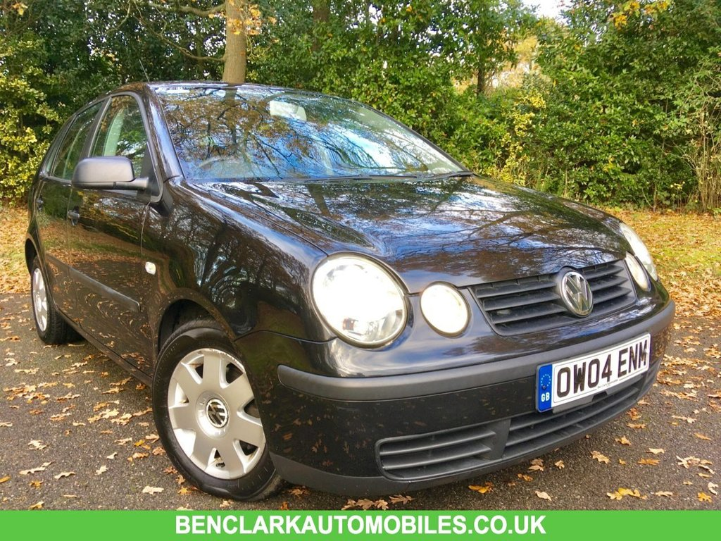 USED 2004 04 VOLKSWAGEN POLO 1.4 TWIST 5d AUTO 74 BHP ONLY 2 OWNERS / ONLY 55,000 MILES/FULL SERVICE HISTORY X8 SERVICE STAMPS/NEW BRAKE PADS AND DISCS ALLROUND JUST RENEWED GREAT CONDITION FOR THE YEAR INSIDE AND OUT,NEW BRAKE PADS AND DISCS ALL ROUND JUST RENEWED
