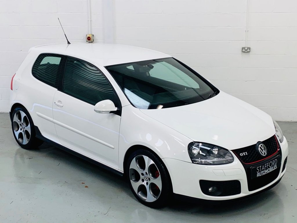 USED 2008 08 VOLKSWAGEN GOLF 2.0 GTI 3d 197 BHP 1 OWNER FROM NEW!! SAT NAV, BLUETOOTH, 18IN ALLOYS