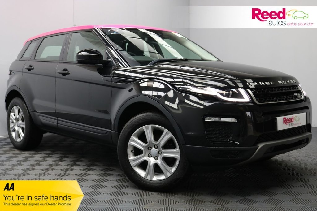 USED 2017 17 LAND ROVER RANGE ROVER EVOQUE 2.0 ED4 SE TECH 5d 148 BHP 1OWN+HEATED LEATH+CAM+PSENSORS