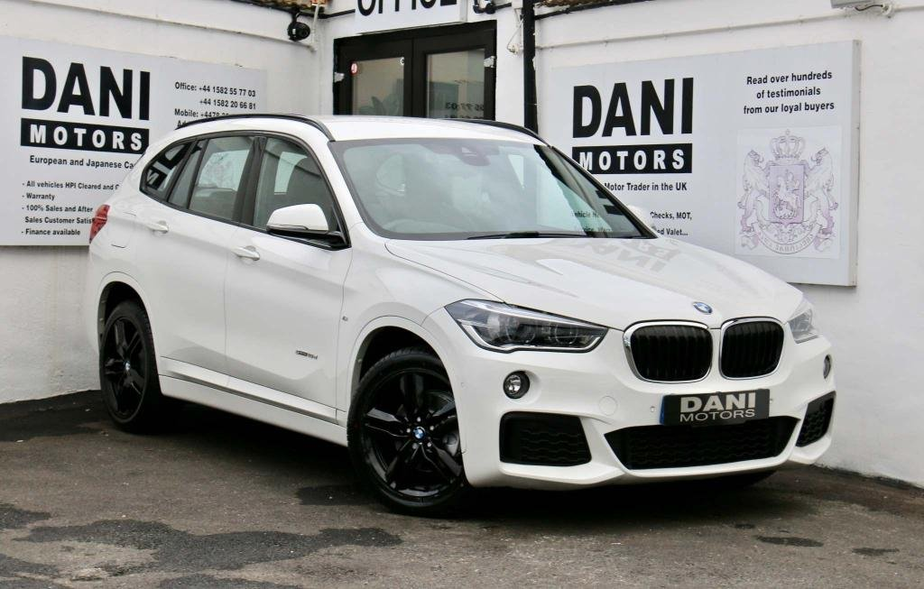 USED 2016 66 BMW X1 2.0 18d M Sport Auto xDrive (s/s) 5dr 1 OWNER*BIG SATNAV*LEATHER*