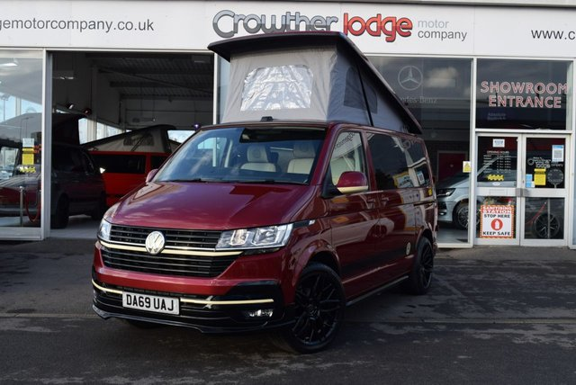 USED 2020 69 VOLKSWAGEN TRANSPORTER 2.0 T28 TDI P/V HIGHLINE 109 BHP FINANCE TODAY WITH NO DEPOSIT - NEW PROFESSIONAL CONVERSION
