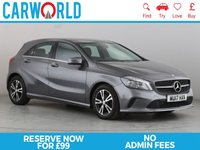 USED 2017 17 MERCEDES-BENZ A-CLASS 1.5 A 180 D SE EXECUTIVE 5d 107 BHP 1 OWNER | SAT NAV | LEATHER