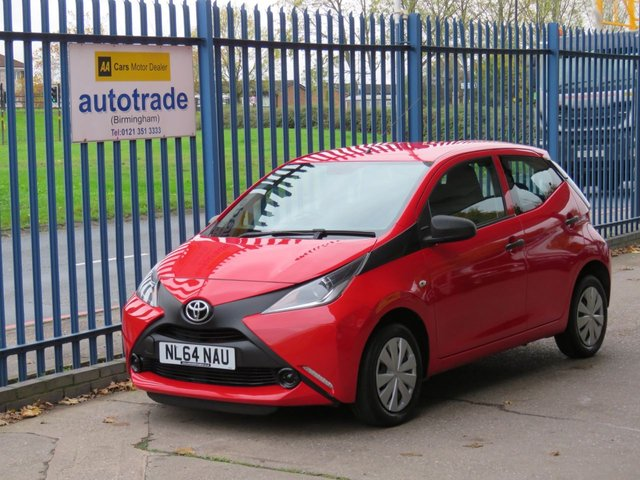 USED 2014 64 TOYOTA AYGO 1.0 VVT-I X 5d 69 BHP £0 Road Tax, 2 Owners, 2 Keys, Just Serviced and MOT'd