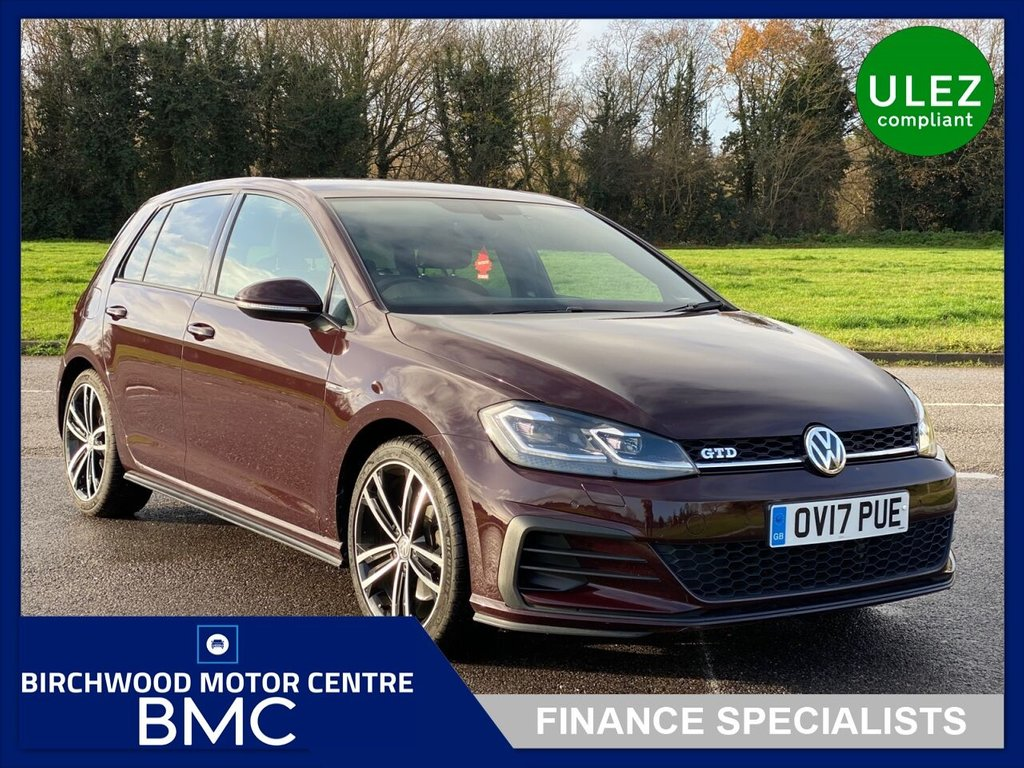 USED 2017 17 VOLKSWAGEN GOLF 2.0 GTD TDI 5d 182 BHP. Ulez Compliant, JUST 40,000m With FULL SERVICE HISTORY!!!