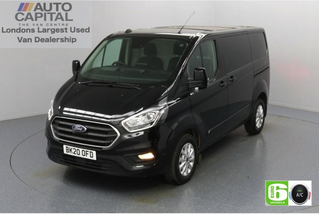 USED 2020 20 FORD TRANSIT CUSTOM 2.0 300 Limited EcoBlue 130 BHP L1 H1 Euro 6 Low Emission AppLink   Ford SYNC 3   Apple CarPlay   Eco   Air Con   Start/Stop   F-R Sensors