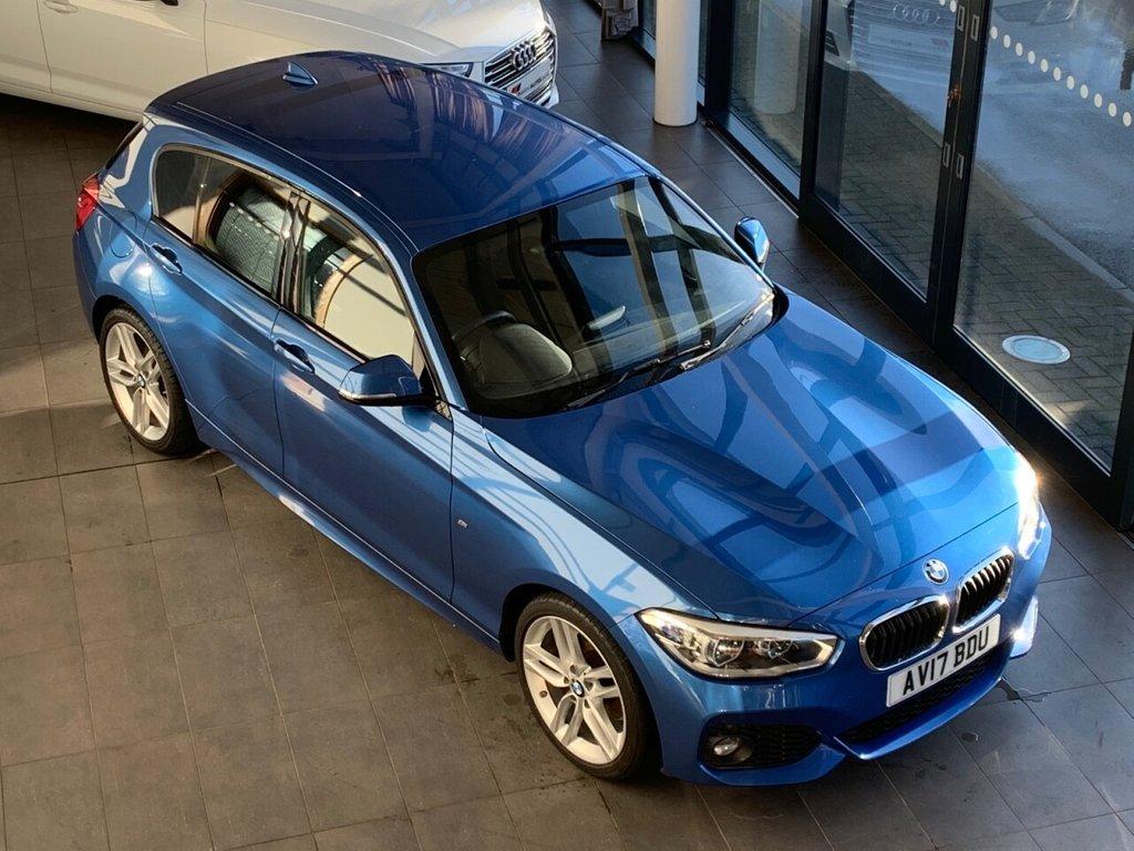 USED 2017 17 BMW 1 SERIES 2017/17 - 1.5 116D M SPORT 5d 114 BHP + LOW MILEAGE + 31K + �£20 R/TAX + 70.6 MPG HATCHBACK