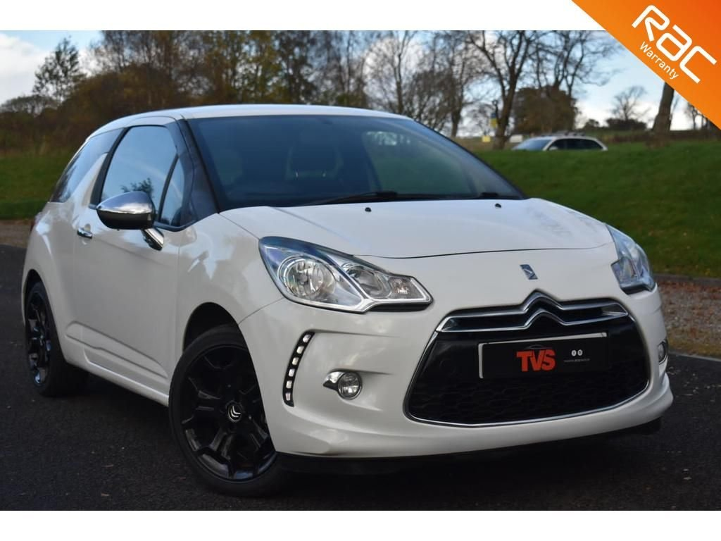 USED 2011 11 CITROEN DS3 1.6 BLACK AND WHITE 3d 120 BHP