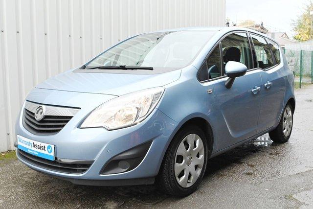 USED 2014 14 VAUXHALL MERIVA 1.7 EXCLUSIV CDTI 5d 128 BHP Perfect economical family car , Low Insurance new MOT