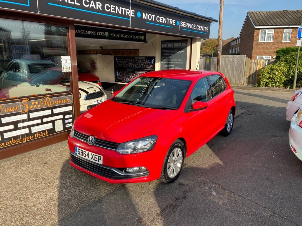 USED 2014 64 VOLKSWAGEN POLO 1.0 SE 5d 60 BHP BLUETOOTH - DAB - USB - AUX - AIRCON