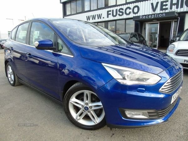 USED 2016 FORD C-MAX 1.0 TITANIUM X 5d 124 BHP £216 a month, T&Cs apply.
