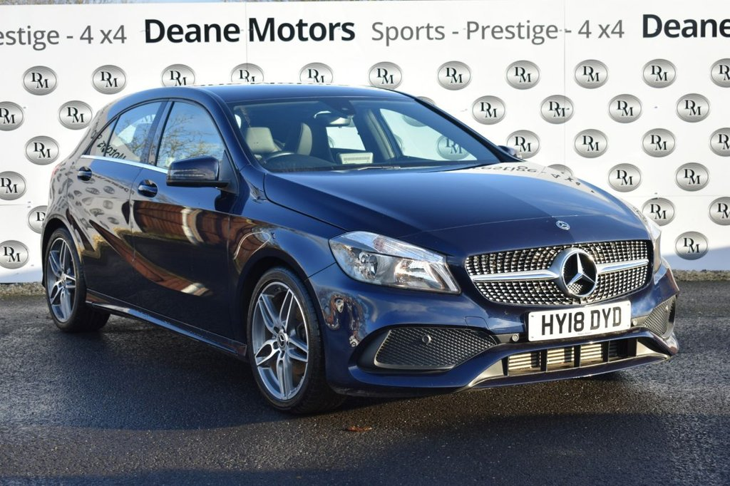 USED 2018 18 MERCEDES-BENZ A-CLASS 2.1 A 200 D AMG LINE 5d 134 BHP