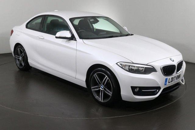 2017 17 BMW 2 SERIES 2.0 218D SPORT 2d 148 BHP ULEZ EXEMPT