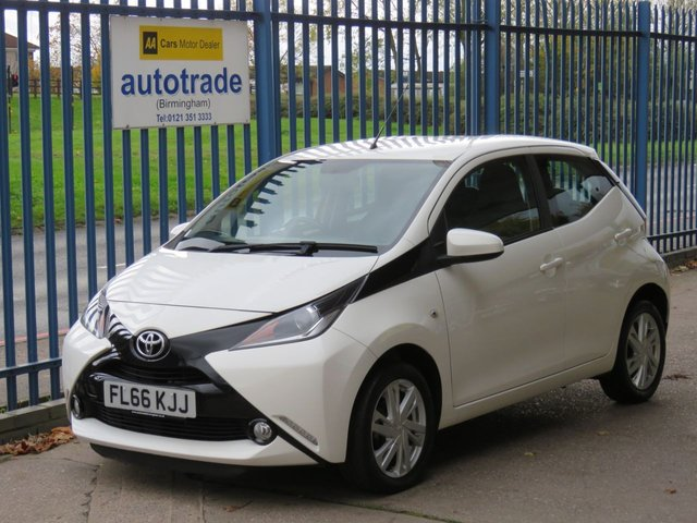 USED 2016 66 TOYOTA AYGO 1.0 VVT-I X-PRESSION 5d 69 BHP £0 Road Tax, Reversing Camera, DAB, Bluetooth, Electric Front Windows, Electric Mirrors