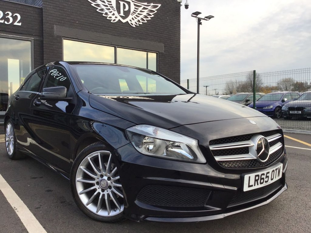 USED 2015 65 MERCEDES-BENZ A-CLASS 2.1 A200 CDI AMG SPORT 5d 136 BHP FULL VALET, MOT, SERVICE AND WARRANTY INC - 7 DAYS MONEY BACK GUARANTEE - FREE DELIVERY - FINANCE RATES FROM 5.9%*