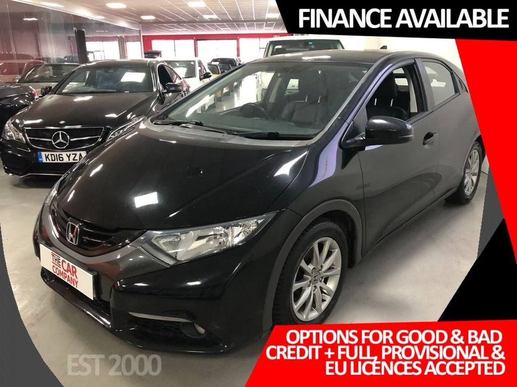 USED 2012 62 HONDA CIVIC 2.2 I-DTEC EX 5d 148 BHP * CLIMATE * REVERSING CAMERA * 1 OWNER ONLY *