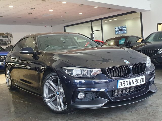 USED 2018 18 BMW 4 SERIES GRAN COUPE 2.0 420D XDRIVE M SPORT GRAN COUPE 4d 188 BHP BM PERFORMANCE STYLING+6.9%APR