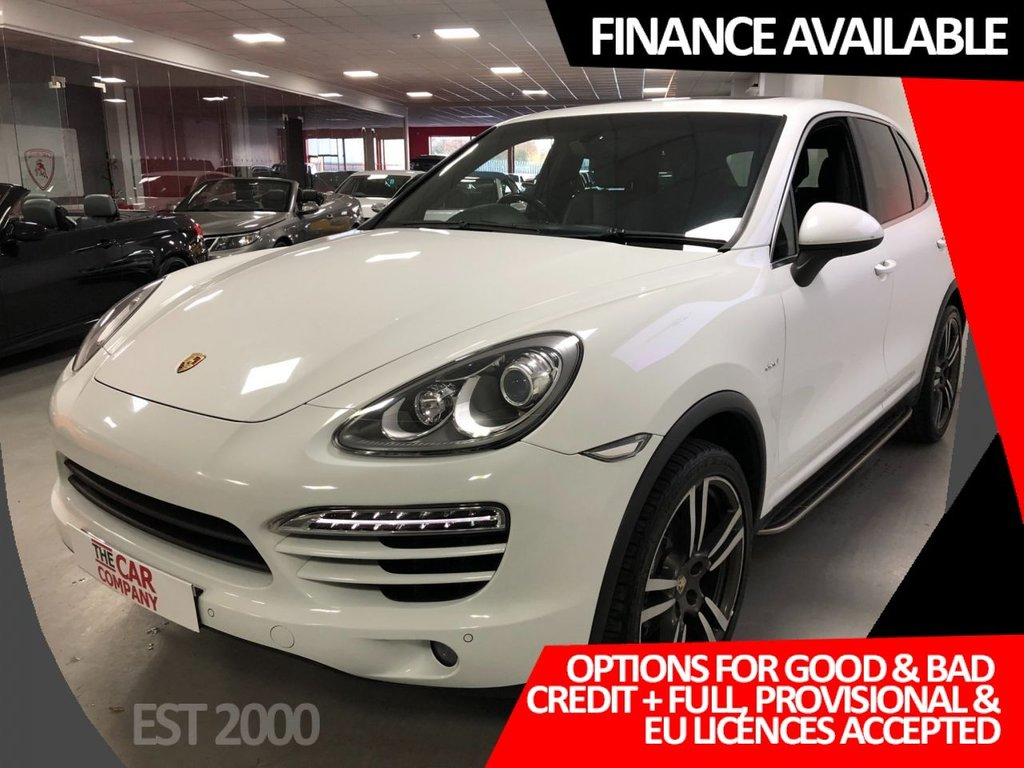 USED 2011 61 PORSCHE CAYENNE 3.0 D V6 TIPTRONIC 5d 245 BHP * 21 INCH ALLOYS * LEATHER * MOT FEB 2021 * 7 PORSCHE STAMPS *