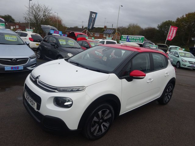 USED 2019 19 CITROEN C3 1.2 PURETECH FEEL 5d 68 BHP **CLICK AND COLLECT ON YOUR NEXT CAR**