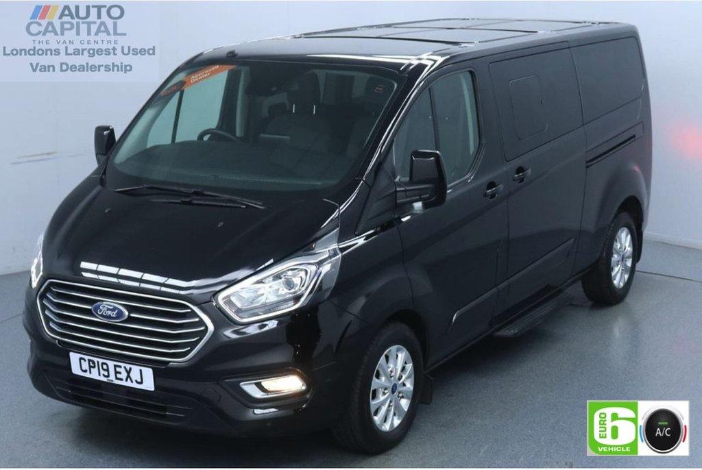 USED 2019 19 FORD TOURNEO CUSTOM 2.0 320 Titanium L2 Auto 130 BHP 9 Seats Minibus Low Emission Automatic | 9 Seats