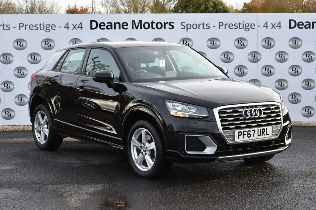 USED 2018 67 AUDI Q2 1.0 TFSI SPORT 5d 114 BHP LOW MILEAGE