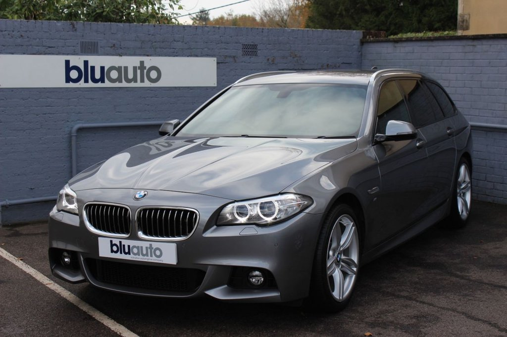 USED 2016 16 BMW 5 SERIES 2.0 520D M SPORT TOURING 5d 188 BHP 1 Owner, Pro Navigation, Heated, Electric Leather Seats, Front & Rear Sensors...............