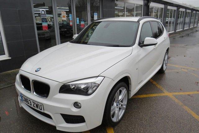USED 2013 63 BMW X1 2.0 XDRIVE20D M SPORT 5d 181 BHP