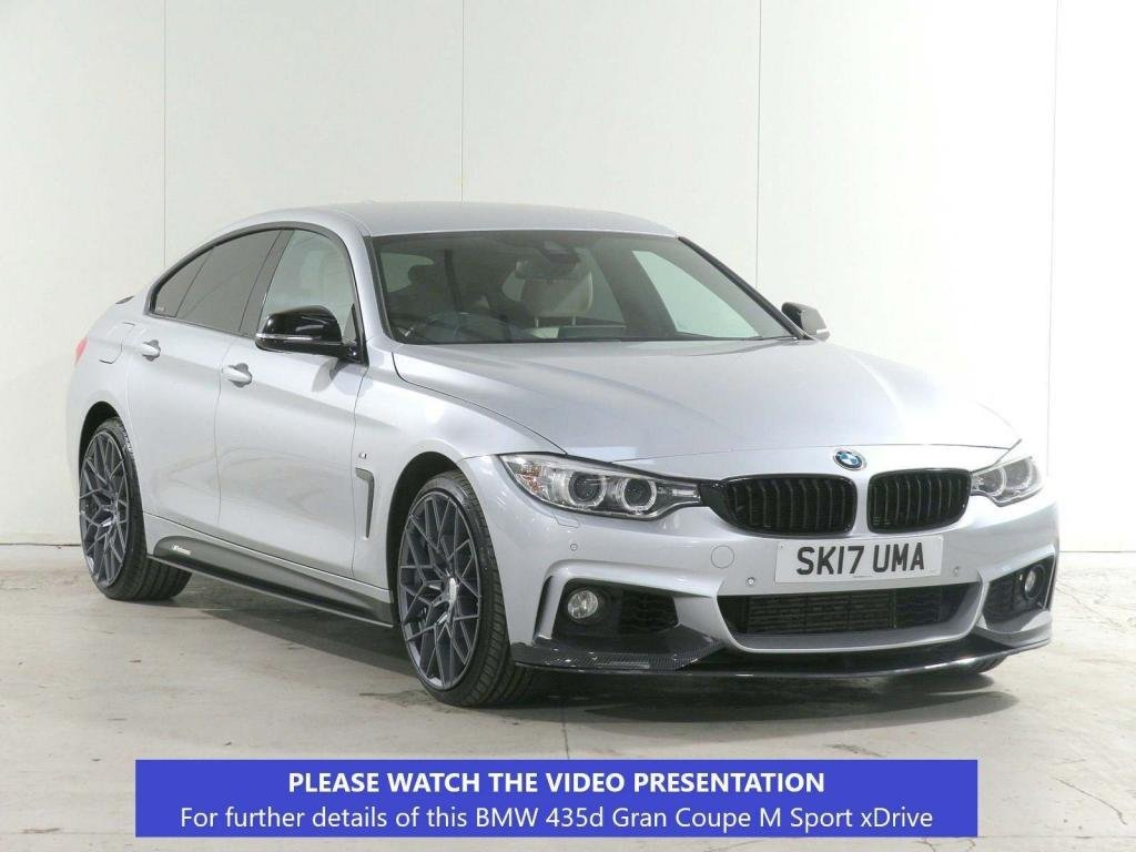 USED 2017 17 BMW 4 SERIES 3.0 435d M Sport Auto xDrive (s/s) 5dr £3475 XTRA*PLUS*HEADUP*BODYKIT