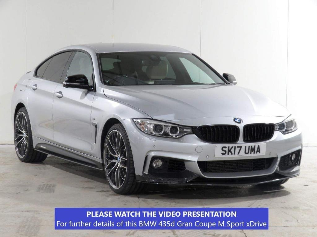 USED 2017 17 BMW 4 SERIES GRAN COUPE 3.0 435d M Sport Auto xDrive (s/s) 5dr £3475 XTRA*PLUS*HEADUP*BODYKIT