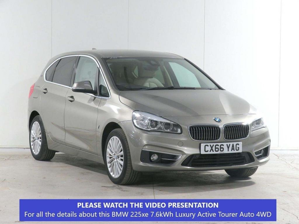 USED 2016 66 BMW 2 SERIES 1.5 225xe 7.6kWh Luxury Active Tourer Auto 4WD (s/s) 5dr £5,390 EXTRA*TECH*COMFORT*NAV+