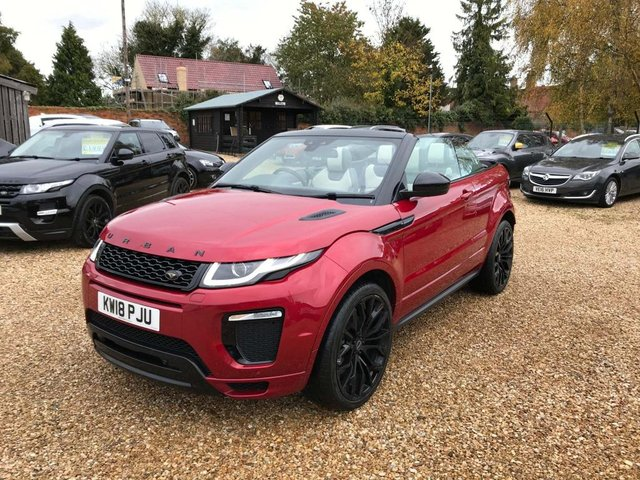 USED 2018 18 LAND ROVER RANGE ROVER EVOQUE 2.0 TD4 HSE Dynamic Auto 4WD (s/s) 2dr Top Spec With Urban Pack