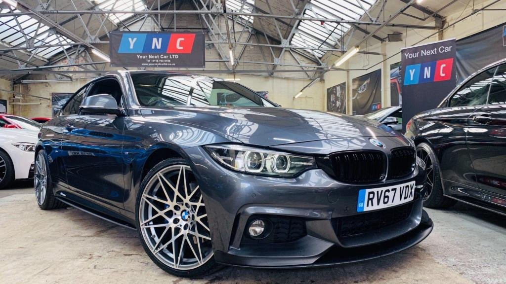 USED 2017 67 BMW 4 SERIES 2.0 420d M Sport Auto (s/s) 2dr PERFORMANCEKIT+20S+DIGITALDASH