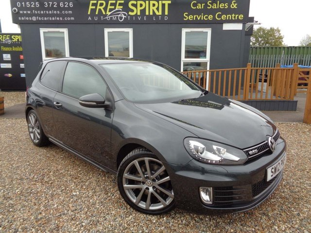 USED 2012 12 VOLKSWAGEN GOLF 2.0 TDI GTD DSG 3dr Nav, Heated Leather, Phone