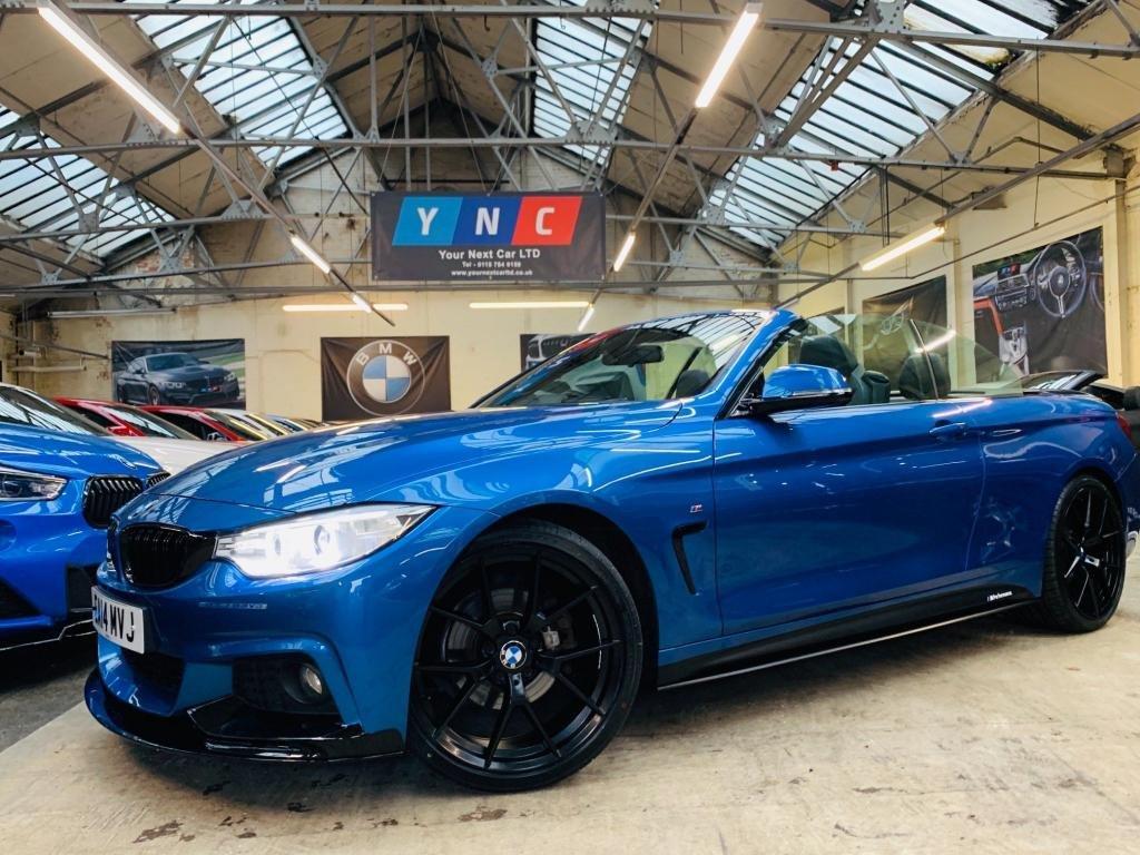 USED 2014 14 BMW 4 SERIES 2.0 420d M Sport Auto 2dr PERFORMANCEKIT+20S+COMFORTPACK