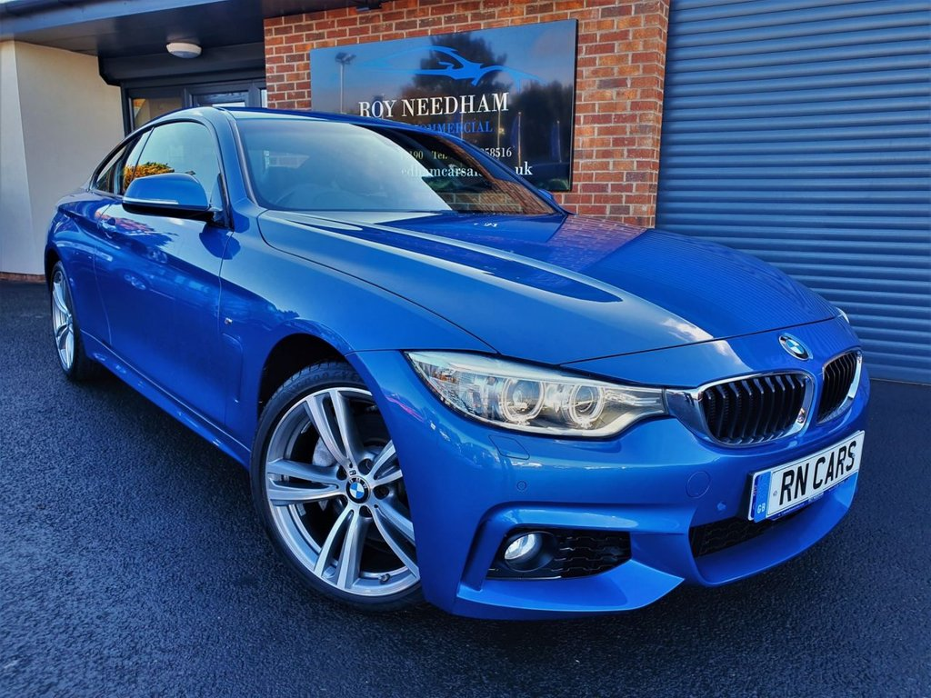 USED 2016 16 BMW 4 SERIES 3.0 435D XDRIVE M SPORT 2DR 309 BHP *** LOW MILES - GREAT SPEC ***