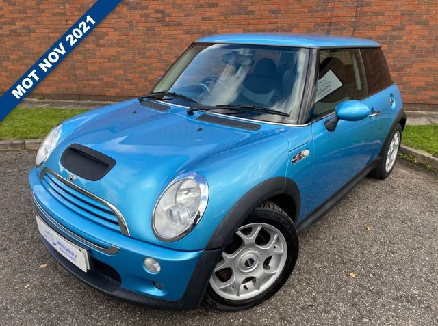 2004 54 MINI HATCH COOPER 1.6 COOPER S 3d 168 BHP