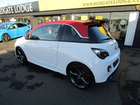 USED 2015 15 VAUXHALL ADAM 1.4 GRAND SLAM S/S 3d 148 BHP NAPPER LEATHER, HEATED SEATS AND STEERING WHEEL, DAB, BLUETOOTH, FRESHLY POWDER COATED ALLOYS..