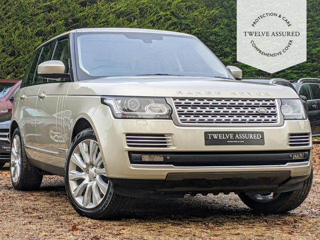 USED 2013 63 LAND ROVER RANGE ROVER 4.4 SDV8 AUTOBIOGRAPHY 5d AUTO 339 BHP (SAT NAV & PANORAMIC ROOF)