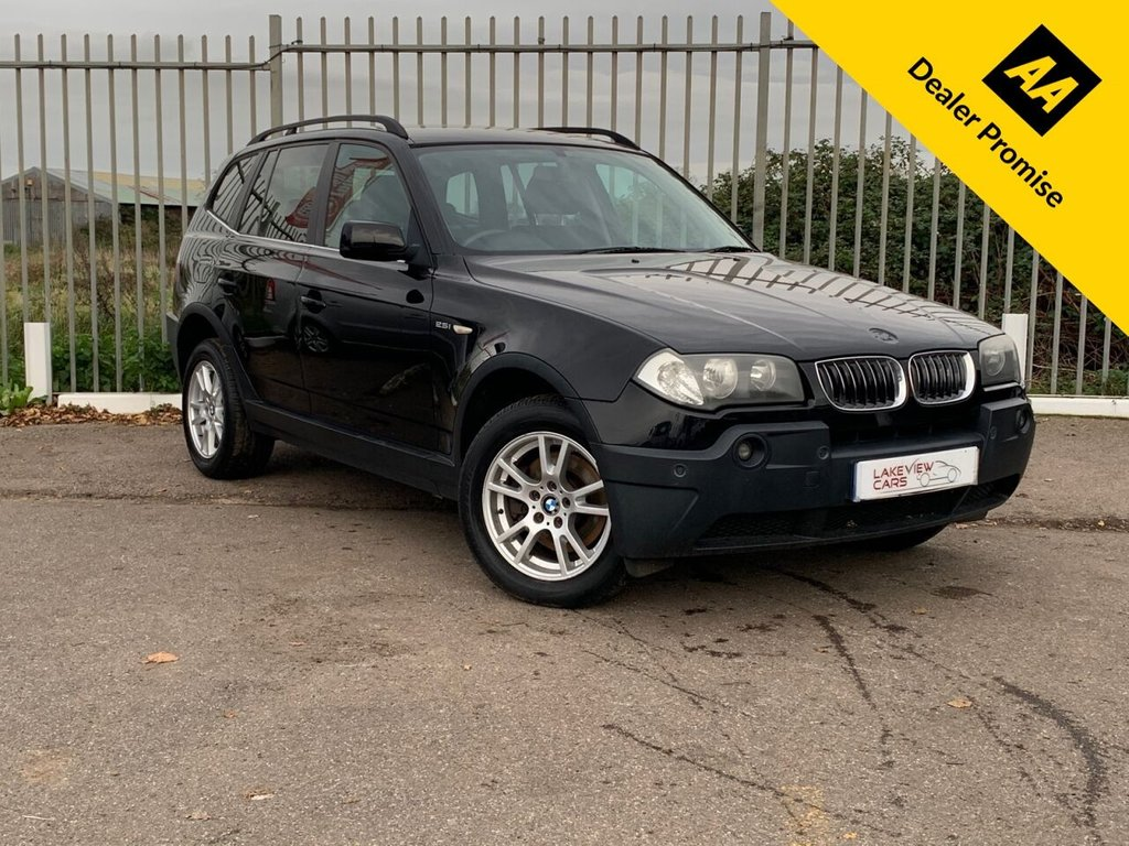 USED 2005 05 BMW X3 2.5 SE 5d 190 BHP