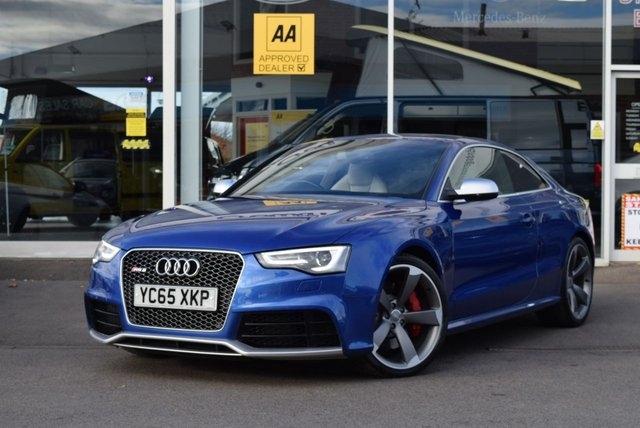 USED 2015 09 AUDI RS5 4.2 RS5 FSI QUATTRO 2d 444 BHP FINANCE TODAY WITH NO DEPOSIT - FULL SERVICE HISTORY