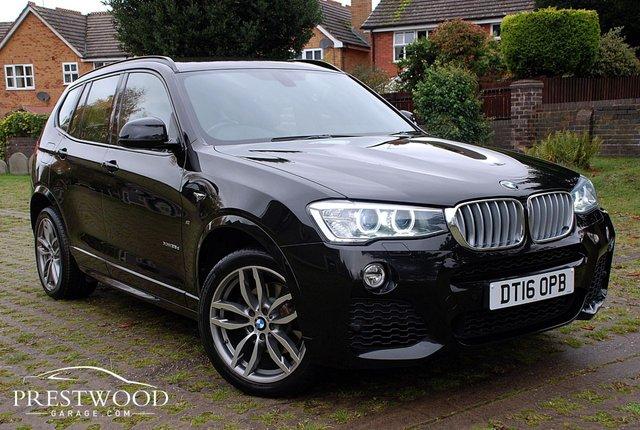 2016 16 BMW X3 XDRIVE 35D M SPORT [310 BHP] AUTO