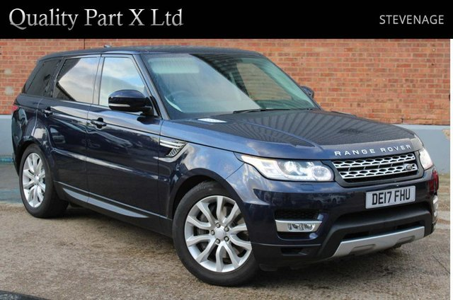 USED 2017 17 LAND ROVER RANGE ROVER SPORT 3.0 SD V6 HSE CommandShift 2 4X4 (s/s) 5dr SATNAV,BLUETOOTH,XENON,CAMERA