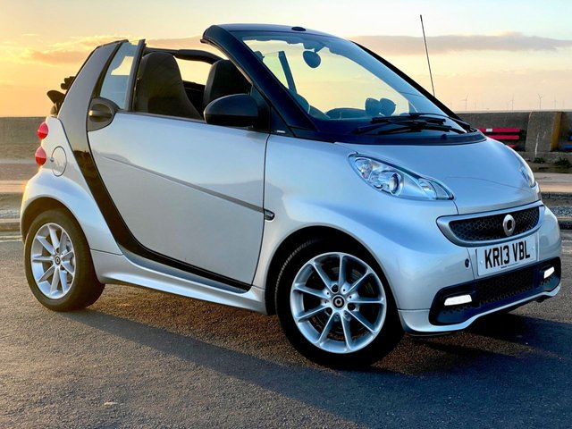 USED 2013 13 SMART FORTWO CABRIO 1.0 PASSION MHD 2d 71 BHP